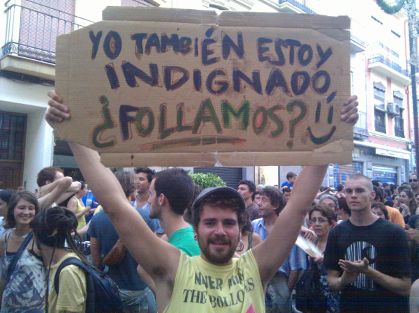 20 Fotos pancartas, carteles y slogans de las manifestaciones del #19J Las claves