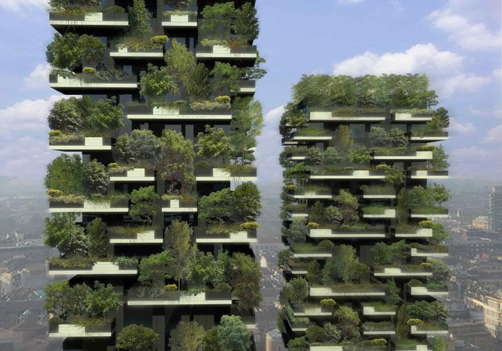 Bosco Verticale / Stefano Boeri. El primer bosque vertical del mundo