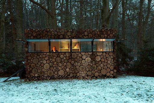 Cabaña-estudio / Piet Hein Eek