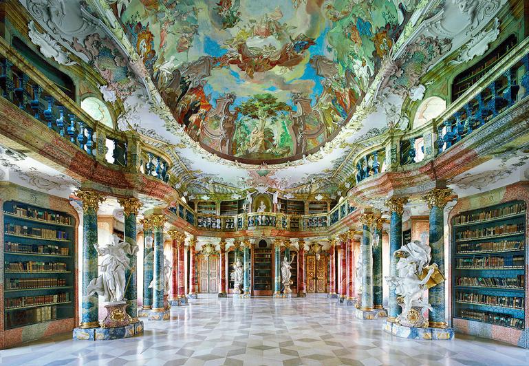 candida-hofer-biblioteca-wiblingen-abbey-alemania