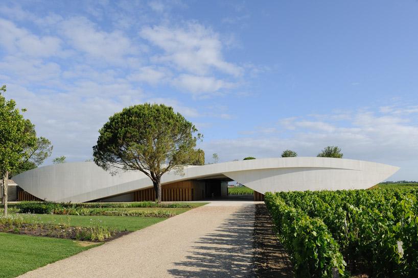 Bodega Chateau Cheval Blanc / Christian de Portzamparc