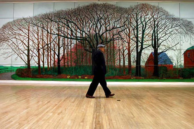 David Hockney The Bigger Paisajes De Gran Formato Aryse