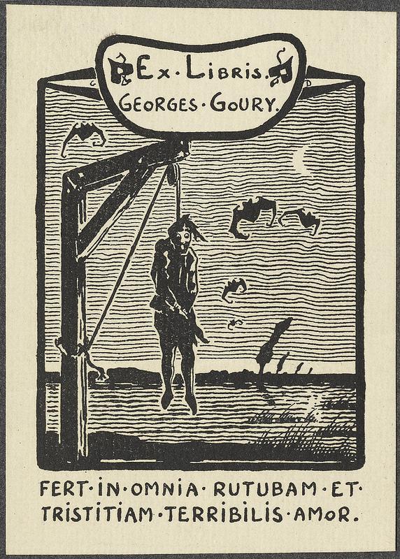 georges-goury-ex-libris-de-georges-demeufe-sin-fecha