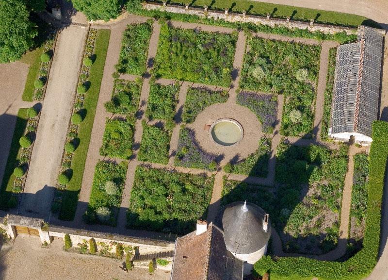 Los jardines de chateau la chatoni re el jard n franc s - El jardin de los sentidos ...