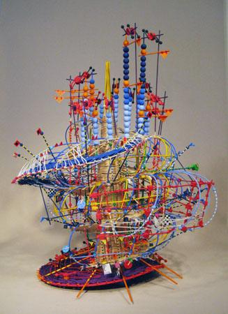 Nathalie Miebach: Arte y ciencia / Esculturas de Tormentas