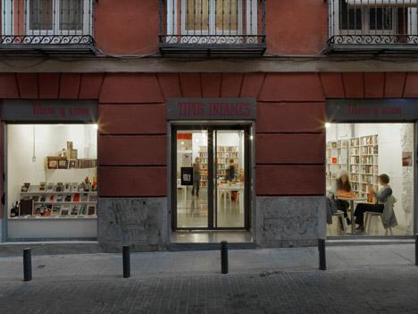 Tipos Infames / Librería, enoteca, cafetería / MYCC
