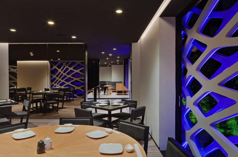 Restaurante tori tori rojkind arquitectos esrawe for Restaurantes modernos exterior