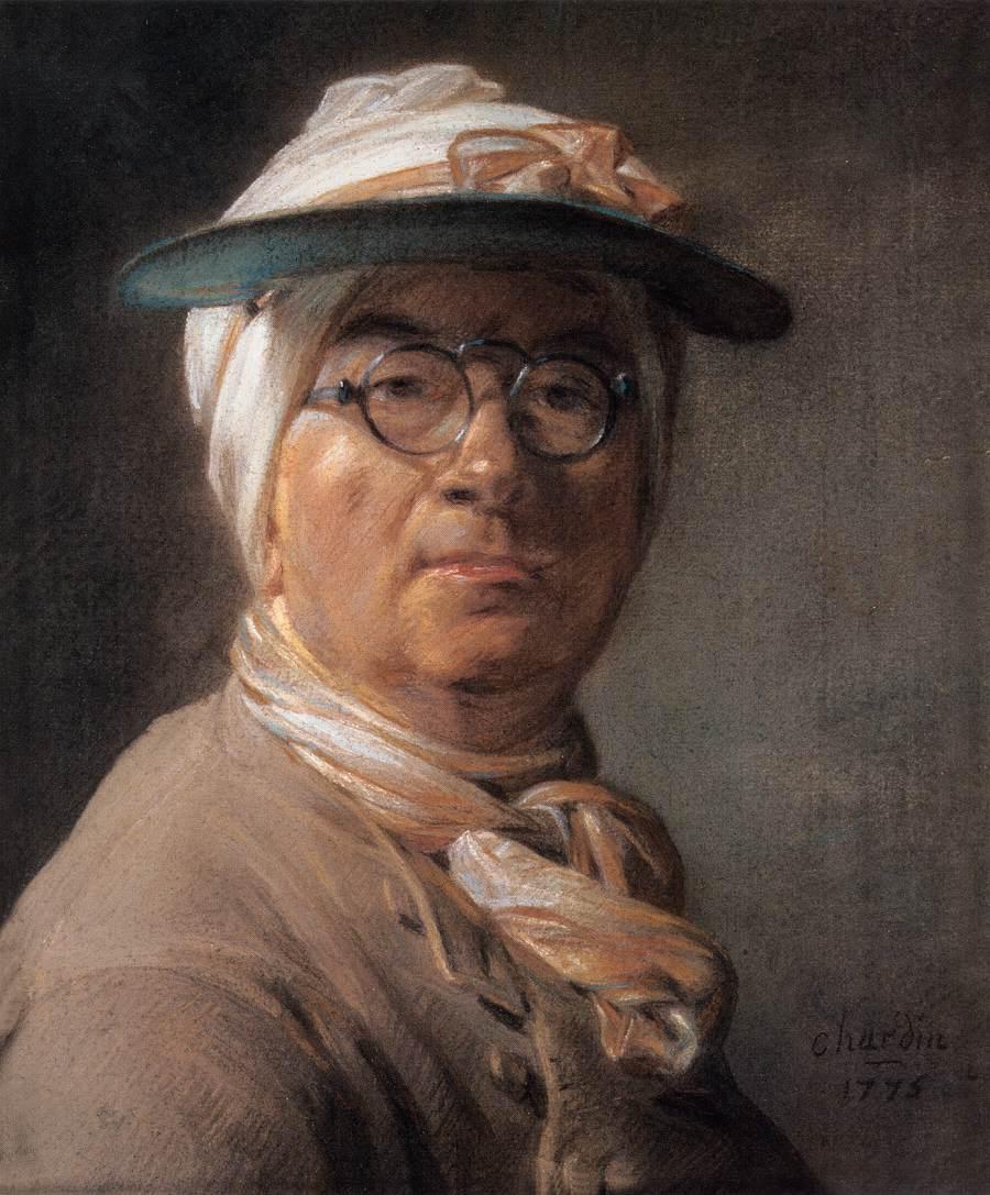 autorretrato_con:visera_1776_Chardin