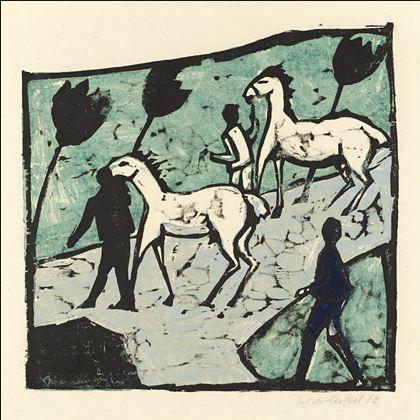 Caballos_Blancos_Ernst_Heckel_1912