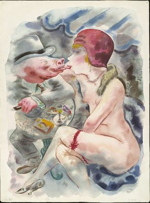 Circe_1921_George_Grosz