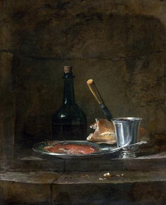 Los_preparativos_de_un_almuerzo_1726_1727_Chardin