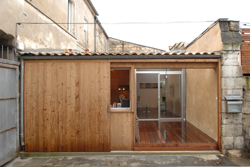 Casa a partir de un garaje, Pasaje Buhan:  Arquitectos Fabre / de Marien