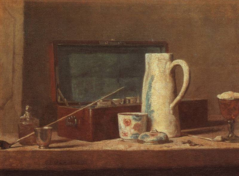La_tabaquera_Chardin_1737