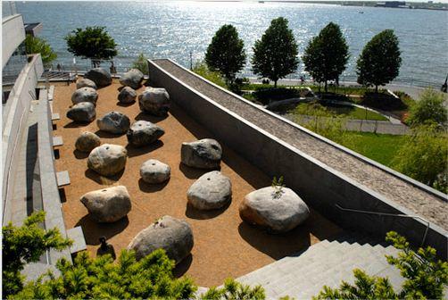 Jardin de piedras andy goldsworthy aryse for Jardines con rocas