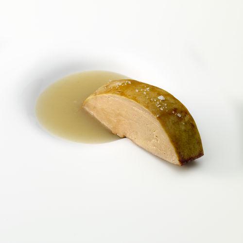 Foie-gras pato parrilla