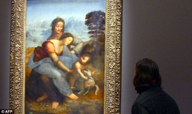 Polémica por la restauración de un cuadro de Leonardo