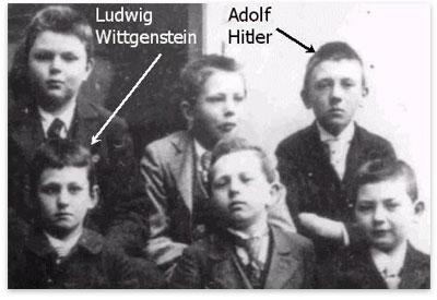 Hitler-Wittgenstein-escuela-Linz
