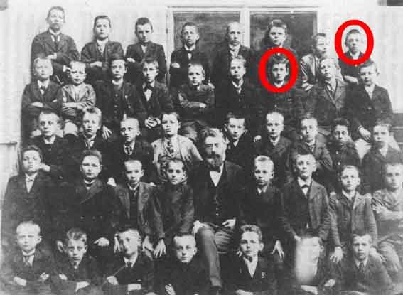 Adolf Hitler, Ludwig Wittgenstein y El judío de Linz