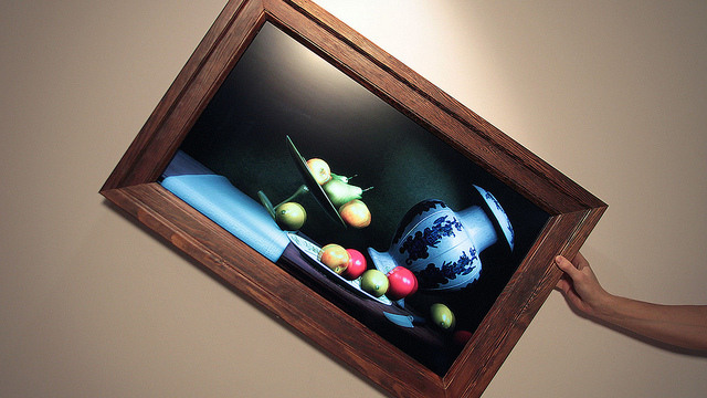 Naturaleza Muerta interactiva / Scott Garner