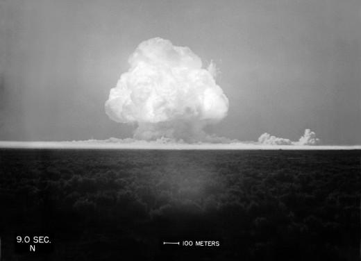 Trinity detonated