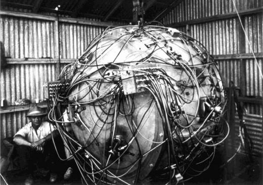Trinity-bomb