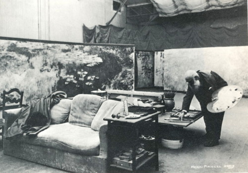 Henri_Manuel_Monet_en_su_estudio