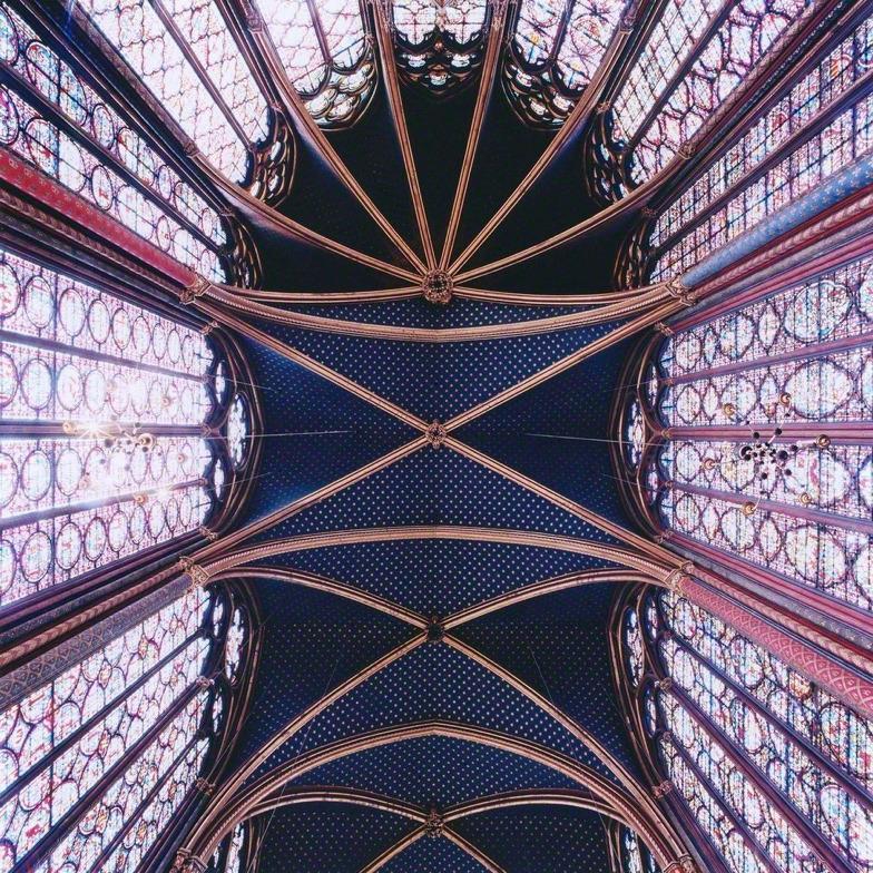 Nave-Sainte-Chapelle-París-Francia