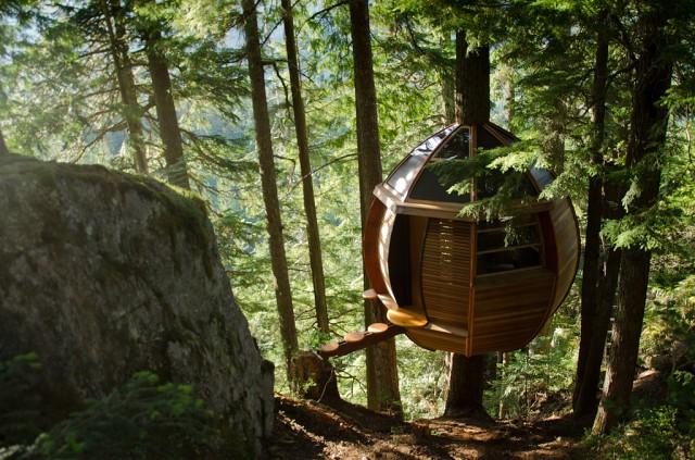 The HemLoft / Casa secreta en un árbol