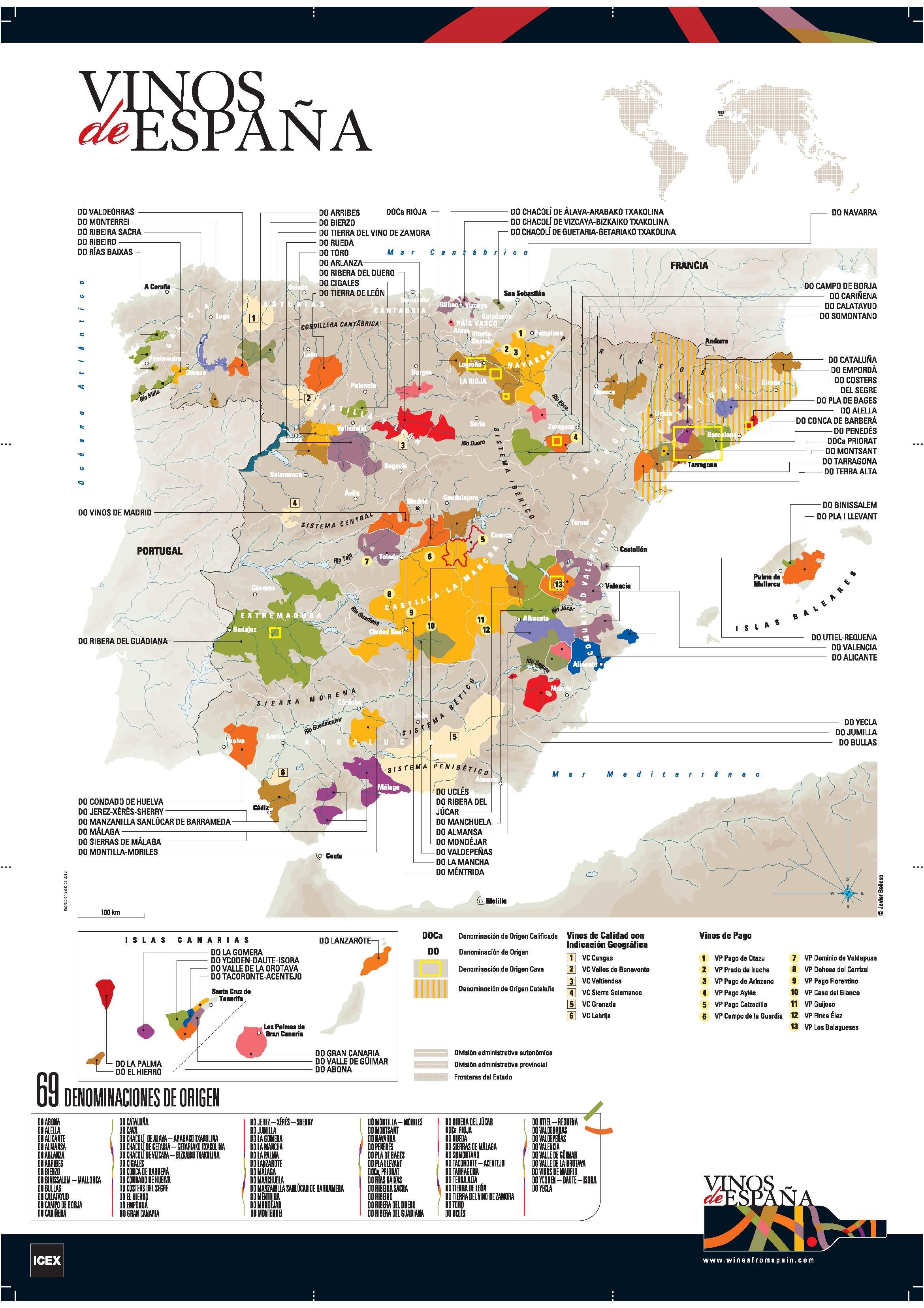 Mapa-de-denominación-de-origen-de-los-vinos-de-España-2011