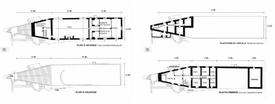 Casa Malaparte_planos