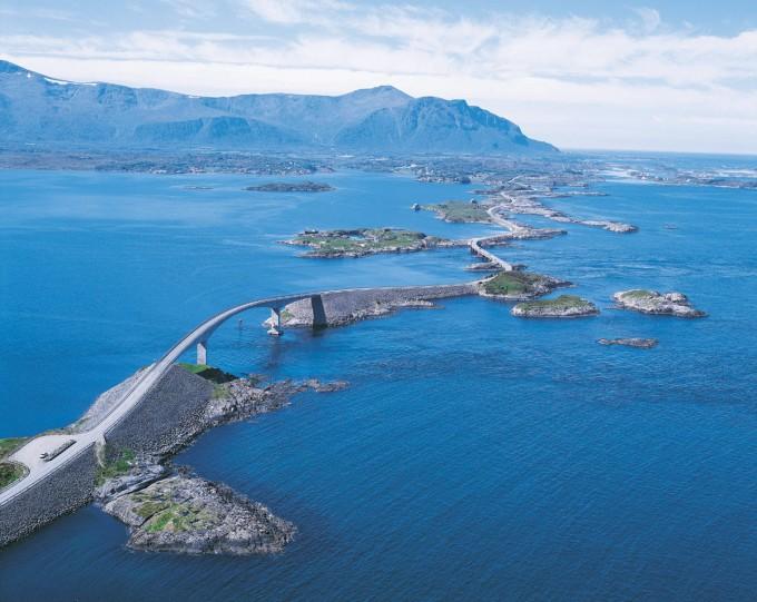 La carretera del Atlántico (Atlanterhavsveien)