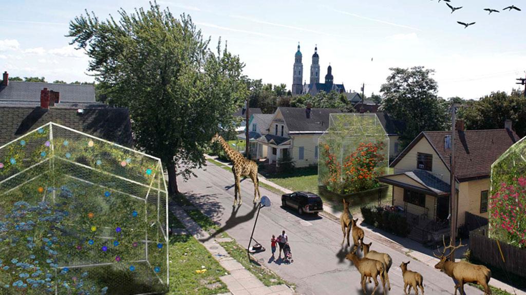 ARTFARMS: un intento para resolver el problema de los espacios urbanos vacíos combinando arte público con agricultura urbana