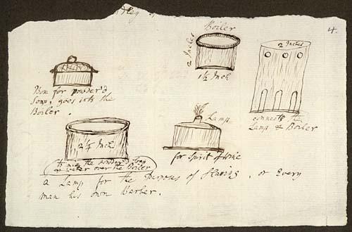 Bocetos-de-las-partes-de-una-Caja-de-afeitar,-Erasmus-Darwin