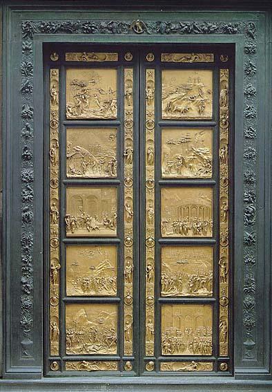 """Vuelve a exhibirse la""""Puerta del Paraíso"""", de Ghiberti, tras su restauración"""