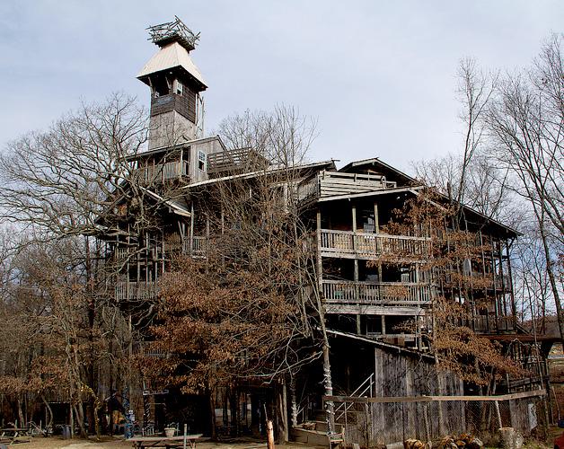 La casa-árbol más grande del mundo