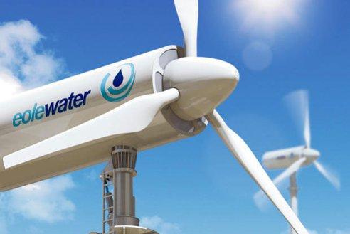 Eole Water: Generador eólico que extrae agua del aire