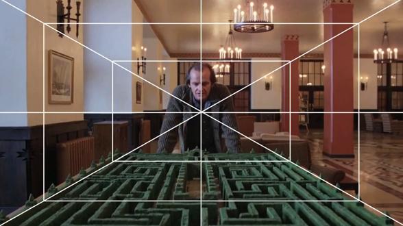 Video / montaje: la perspectiva frontal en las películas de Kubrick