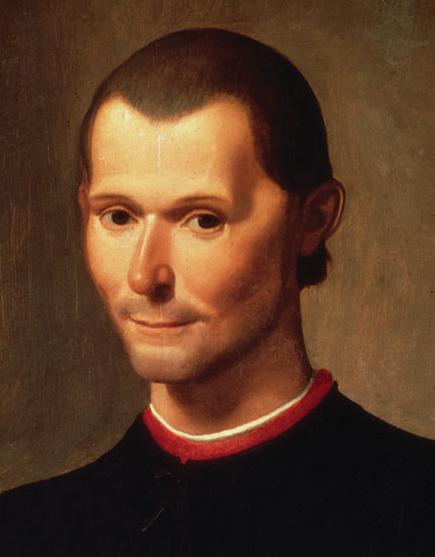 Maquiavelo con el maestro de la traición (1)