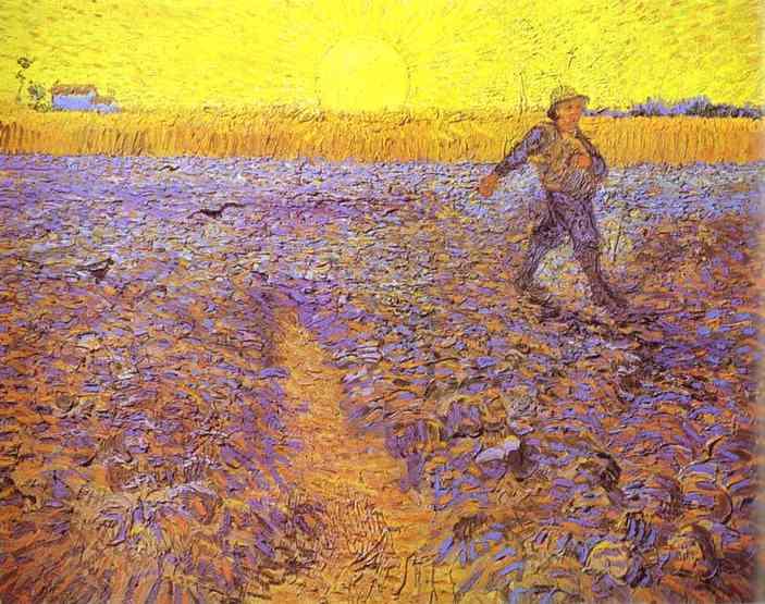 Van-Gogh-Semeur-et-soleil-couchant-1888