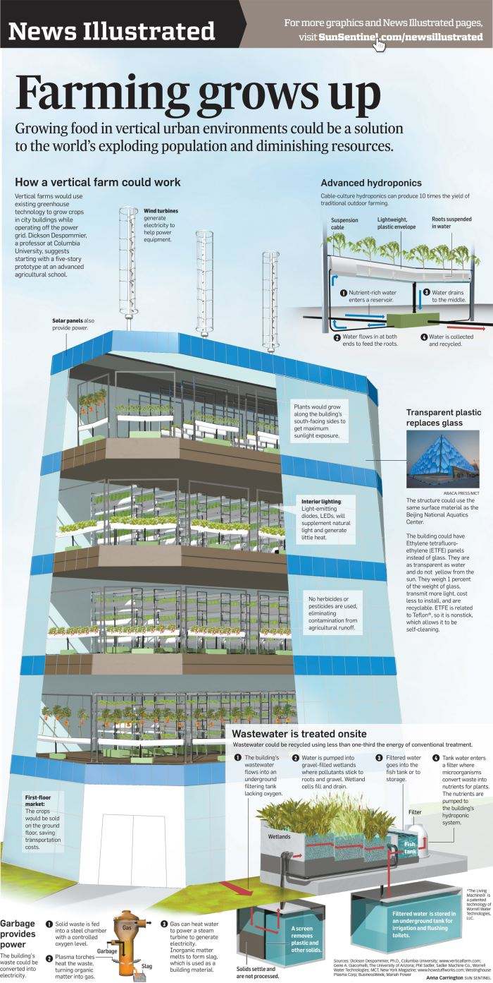 Es la agricultura vertical el futuro para la producci n for How much does it cost to build a farmhouse