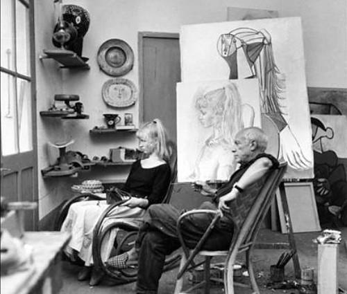Sylvette David, la modelo de Picasso y la cola de caballo