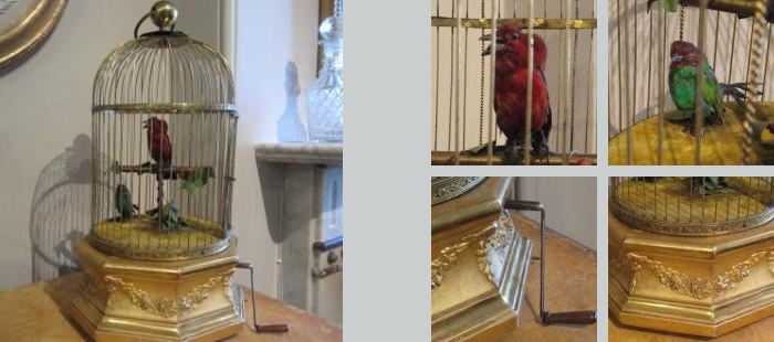 Un dispositivo mecánico de 120 años de antigüedad que imita perfectamente el canto de un pájaro