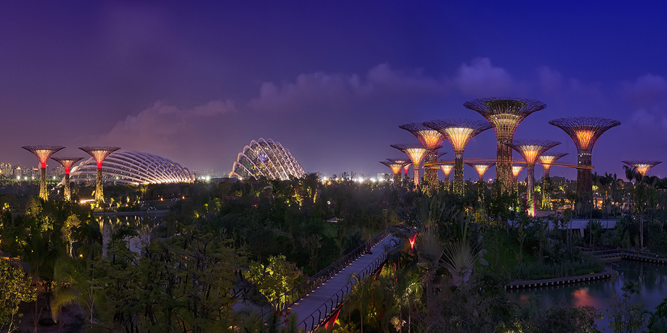 Video: Gardens by de Bay en Singapur