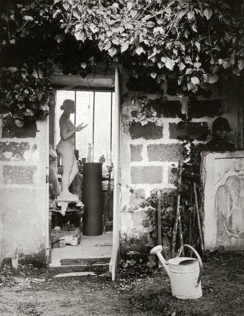 Atelier-Aristide-Maillol. Marly-le-Roi-1936-por-Brassaï