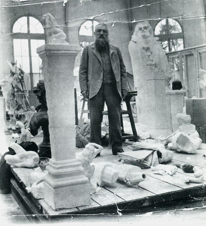 Auguste Rodin, atelier 1905