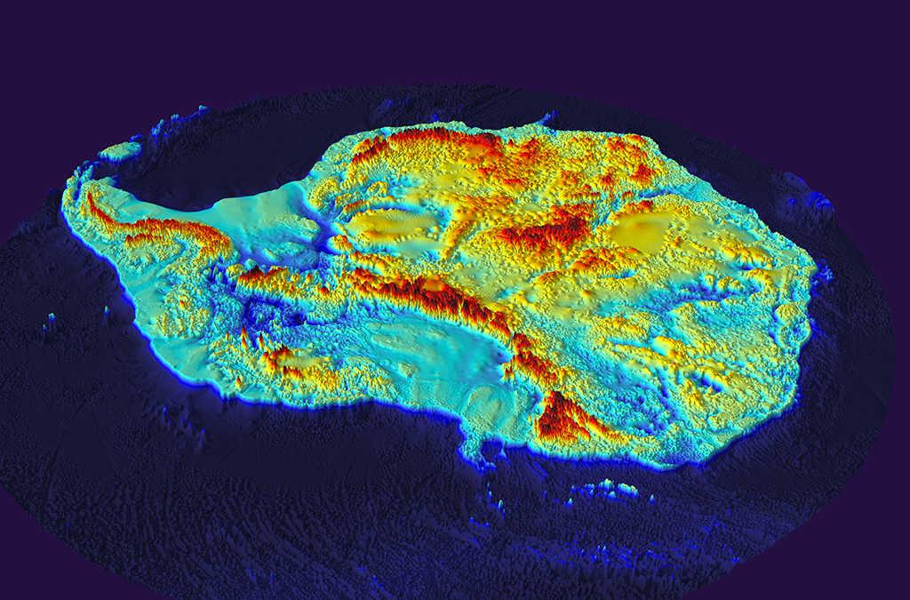 La Antártida sin hielo: Bedmap2 es el nuevo mapa del paisaje terrestre de la Antártida