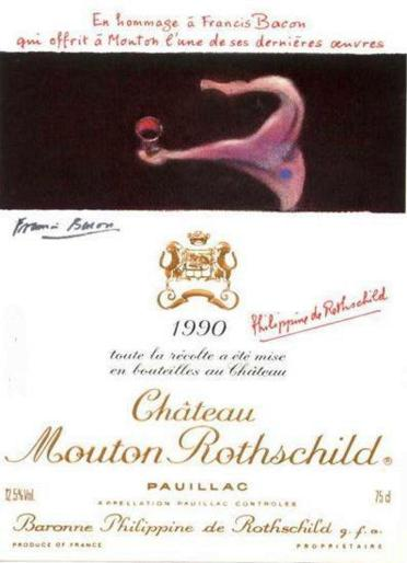 Chateau-Mouton-Rothschild-etiquetas-Francis-Bacon-1990