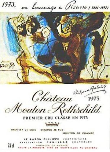 Chateau-Mouton-Rothschild-etiquetas-Picasso-1973