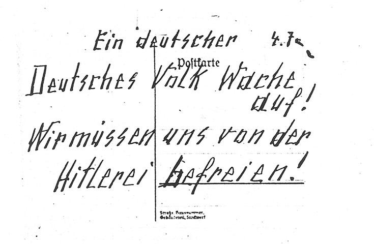 Otto y Elise Hampel: la resistencia al totalitarismo mediante tarjetas postales