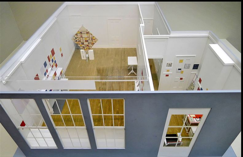 Piet_Mondrian _ reconstruccion-estudio-26-rue-du-depart